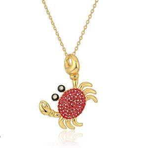 kate spade Jewelry - KATE SPADE • Shore Thing Pave Crab Necklace